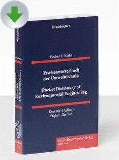 Taschenwörterbuch der Umwelttechnik / Pocket Dictionary of Environmental Engineering, CD-ROM