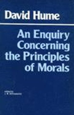 Enquiry Concerning the Principles of Morals - Hume, David