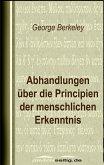 Abhandlungen über die Principien der menschlichen Erkenntnis (eBook, ePUB)
