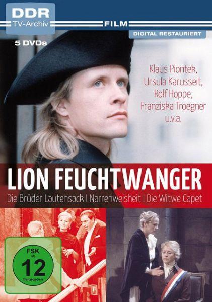 lion feuchtwanger ddr tv archiv dvd box auf dvd portofrei bei b. Black Bedroom Furniture Sets. Home Design Ideas