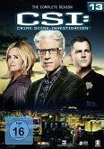 CSI: Crime Scene Investigation - The Complete Season 13 DVD-Box