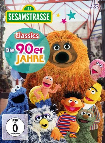 3731aa5112 Sesamstraße Classics - Die 90er Jahre (2 Discs) auf DVD - Portofrei ...