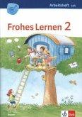 FROHES LERNEN Sprachbuch. Arbeitsheft Schulausgangsschrift 2. Schuljahr