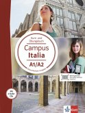 Campus Italia. Kurs- und Übungsbuch + 2 Audio-CDs (A1/A2)