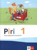 Piri Fibel. Hausaufgabenheft in Grundschrift. 1. Schuljahr