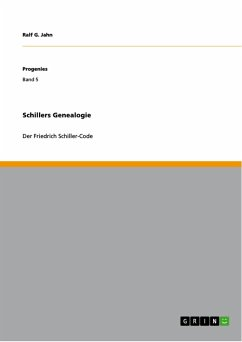 Schillers Genealogie (eBook, PDF)