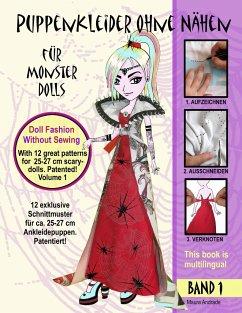 Puppenkleider ohne Nähen für Monster Dolls - Ba...