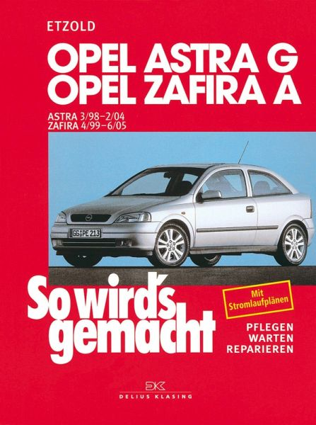 So Wirds Gemacht Opel Astra G Pdf