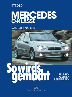 Mercedes C-Klasse W 203 von 6/00 bis 03/07 (eBook, PDF) - Etzold, Rüdiger