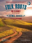 Folk Roots for Clarinet, for Clarinet with Piano Accompaniment, w. Audio-CD