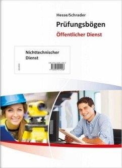 Hesse/Schrader: Prüfungsbögen nicht-technischer...