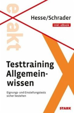 Testtraining Allgemeinwissen