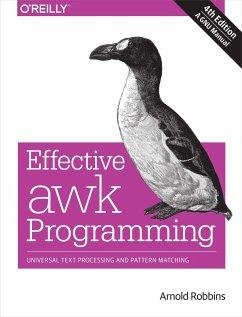 Effective awk Programming - Robbins, Arnold
