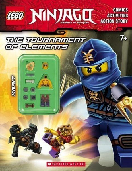 The Tournament Of Elements Lego Ninjago Activity Book