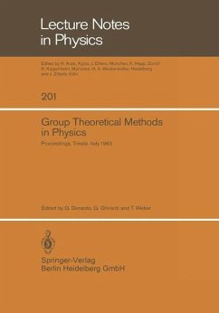 Group Theoretical Methods in Physics