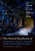 The Oxford Handbook of Sociology, Social Theory, and Organization Studies: Contemporary Currents