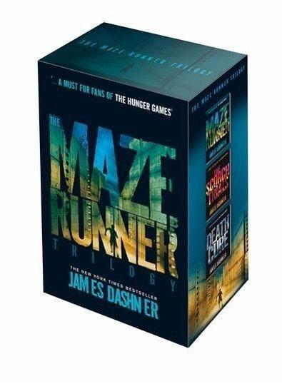 Maze runner epub trilogy