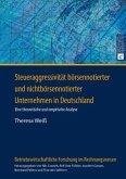 Steueraggressivität börsennotierter und nichtbörsennotierter Unternehmen in Deutschland