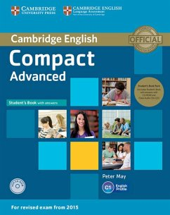 Compact Advanced. Student's Book Pack (Student's Book with answers and CD-ROM and 2 Class Audio CDs)