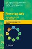 Reasoning Web. Reasoning and the Web in the Big Data Era