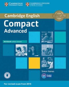 Compact Advanced. Workbook without answers with downloadable audio