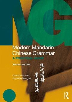 Modern Mandarin Chinese Grammar (eBook, PDF)