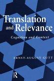 Translation and Relevance (eBook, PDF)