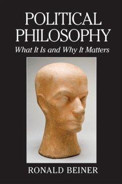 Political Philosophy (eBook, PDF) - Beiner, Ronald