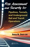 Risk Assessment and Security for Pipelines, Tunnels, and Underground Rail and Transit Operations (eBook, PDF)