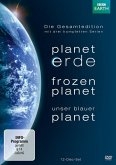 Planet Erde / Frozen Planet / Unser blauer Planet - Die Gesamtedition (12 Discs)