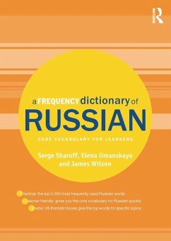 A Frequency Dictionary of Russian (eBook, PDF) - Sharoff, Serge; Umanskaya, Elena; Wilson, James