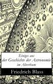 Einiges aus der Geschichte der Astronomie im Alterthum (eBook, ePUB)