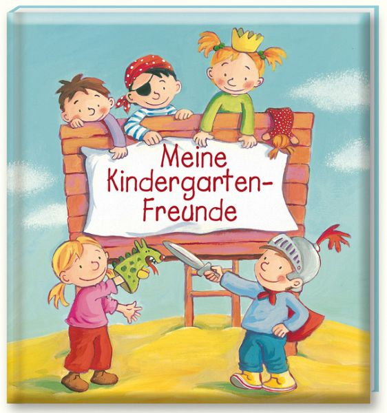 freundebuch meine kindergarten freunde buch. Black Bedroom Furniture Sets. Home Design Ideas