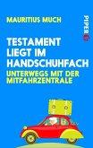 Testament liegt im Handschuhfach (eBook, ePUB)