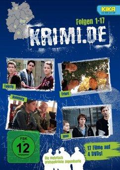 krimi.de - Staffel 1 bis 5 (4 Discs)