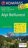 KOMPASS Wanderkarte Alpi Bellunesi