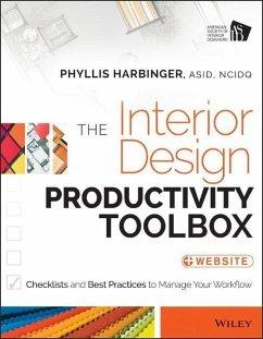 The Interior Design Productivity Toolbox (eBook, PDF) - Harbinger, Phyllis