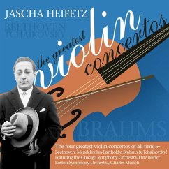 Jascha Heifetz: The Greatest Violin Concertos - Diverse