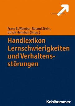 Handlexikon Lernschwierigkeiten und Verhaltensstörungen (eBook, PDF)