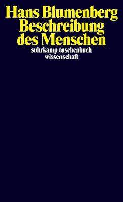 Beschreibung des Menschen (eBook, ePUB) - Blumenberg, Hans