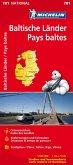 Michelin Karte Baltische Länder (Estland, Lettland und Litauen); Pays baltes