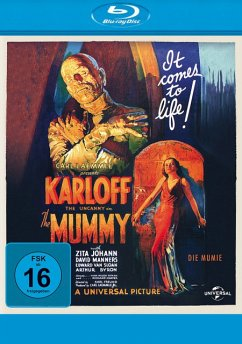 Die Mumie - Boris Karloff,Zita Johann,David Manners