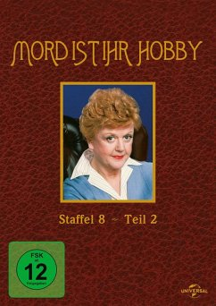 Mord ist ihr Hobby - Staffel 8.2 DVD-Box - Angela Lansbury