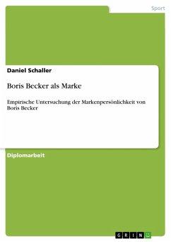 Boris Becker als Marke (eBook, PDF)