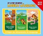 Die kleine Schnecke Monika Häuschen, Hörspielbox, 3 Audio-CDs / Die kleine Schnecke, Monika Häuschen, Audio-CDs Tl.4, Vol.4