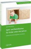 Spiel- und Bastelkarten für Kinder unter drei Jahren