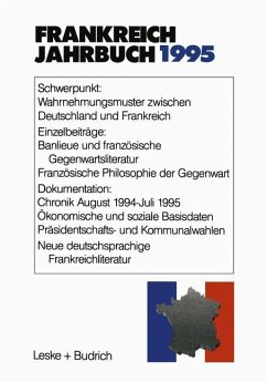 Frankreich-Jahrbuch 1995 - Albertin, Lothar; Bock, Hans Manfred; Christadler, Marieluise; Kimmel, Adolf; Kolboom, Ingo; Picht, Robert; Uterwedde