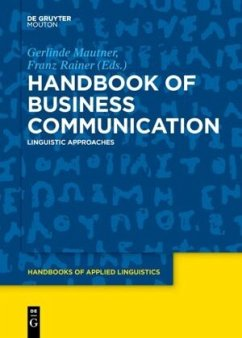 Handbook of Business Communication
