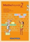 Mathefreunde 2. Schuljahr. Schülerbuch mit Kartonbeilagen Nord