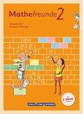 Mathefreunde 2. Schuljahr. Schülerbuch mit Kartonbeilagen Süd